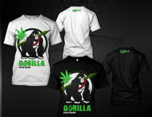 gorilla t shirts